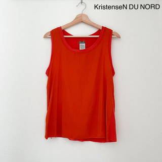 ドゥロワー(Drawer)のKristenseN DU NORD シルクコンビトップス(シャツ/ブラウス(半袖/袖なし))