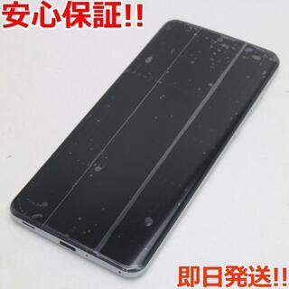 シャープ(SHARP)の新品同様 SHV47 ミスティホワイト スマホ 白ロム(スマートフォン本体)