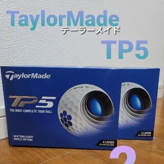 TaylorMade - TaylorMade  テーラーメイド TP5 ホワイト 2ダース