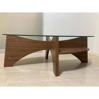Francfranc - フランフラン ガラステーブル