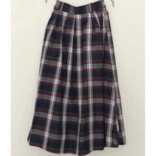 【本日限定価格!】ロングスカート・チェック柄スカート