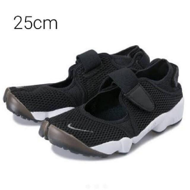 NIKE(ナイキ)の新品・未使用タグ付き!ナイキ【25cm】エアリフトブリーズ/ブラック レディースの靴/シューズ(スニーカー)の商品写真