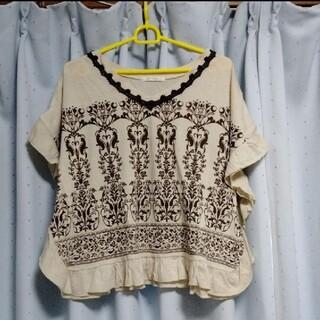 アクシーズファム(axes femme)の3080アクシーズポンチョ風TシャツM(Tシャツ(半袖/袖なし))