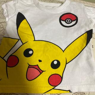 ピカチュウ   半袖 60〜70cm 赤ちゃん Tシャツ ポケモン