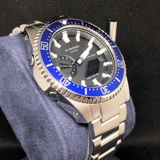 ジーショック(G-SHOCK)のGA-2100本体付き ステンレスベルトセット カシオーク カスタム Gショック(腕時計(アナログ))