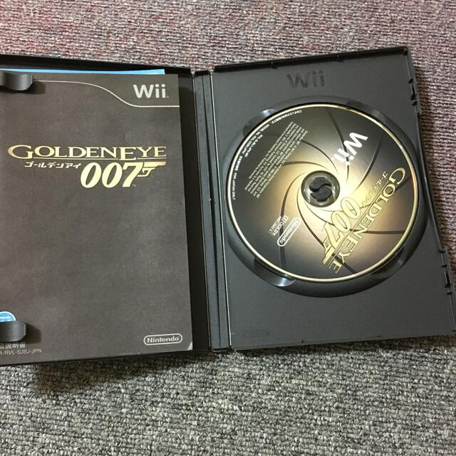 Wii(ウィー)のゴールデンアイ 007 Wii エンタメ/ホビーのゲームソフト/ゲーム機本体(家庭用ゲームソフト)の商品写真