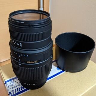 SIGMA - シグマ 一眼レンズ 70-300mm ペンタックス用 フルサイズ対応