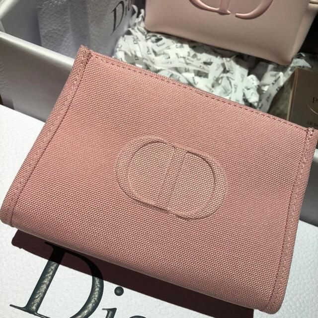 Dior(ディオール)のディオール ノベルティ ピンク ポーチ レディースのファッション小物(ポーチ)の商品写真