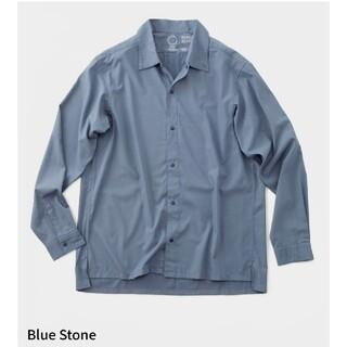 山と道 バンブーシャツ Lサイズ