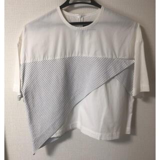 アクネ(ACNE)のJACQUEMUS 36 ブラウス トップス ジャックムス シャツ(シャツ/ブラウス(半袖/袖なし))