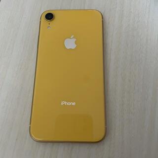 iphoneXr 128GB イエロー