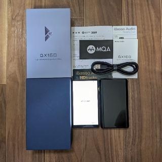 iBasso DX160 Ver.2020 ブラック 保証書付き
