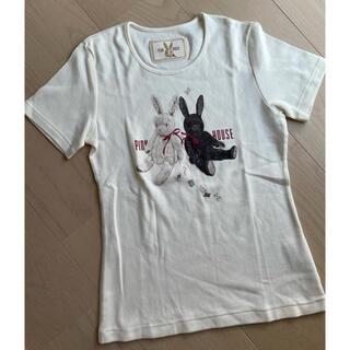 PINK HOUSE - ☆新品 ピンクハウス  うさぎ Tシャツ  日本製