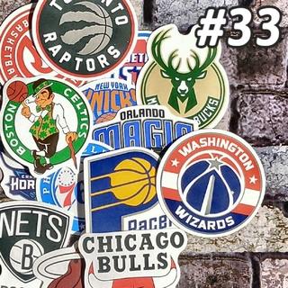 NBA ステッカー セット バスケット ボール チーム ロゴ スケボー 33