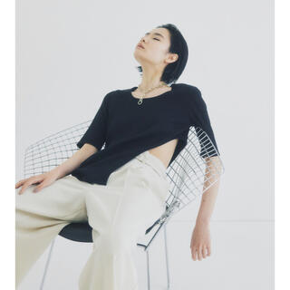 Ameri VINTAGE - UNITED TOKYO  beautility リバーテレコカーブトップス