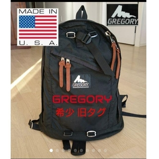 BEAUTY&YOUTH UNITED ARROWS - 値下❗◆極美 希少 旧ロゴ 『made in USA』GREGORY デイ