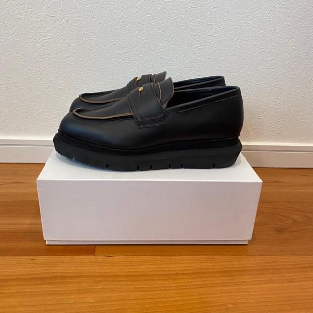sacai(サカイ)の即完売モデル 21ss sacai サカイ コインローファー 42 26.5cm メンズの靴/シューズ(ドレス/ビジネス)の商品写真