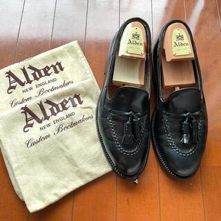 Alden - 美品 Alden × UA 3775(664)7.5D タッセルローファー