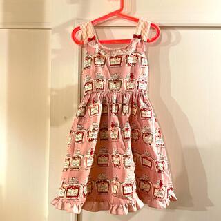 Shirley Temple - シャーリーテンプルのかわいいキャンディポットのワンピース♡130cm♡