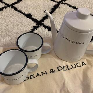 ディーンアンドデルーカ(DEAN & DELUCA)の最終⚠️DEAN&DELUCA♥3点セット(グラス/カップ)