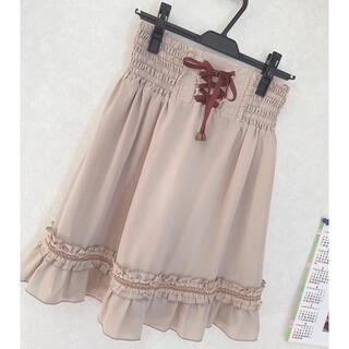 axes femme - 新品♡アクシーズファム♡axesfemme♡膝丈スカート♡フレアスカート