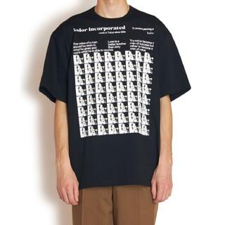 kolor - Kolor 21ss アインシュタイン Tシャツ
