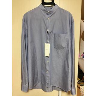 the clasik 46 collarless shirt 未使用品