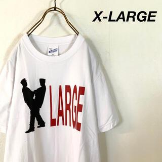 エクストララージ(XLARGE)の【美品】X-LARGE ヒューマンプリント tシャツ(Tシャツ/カットソー(半袖/袖なし))