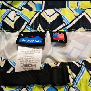 KAVU - USA製 KAVU ナイロン ショートパンツ パタゴニア グラミチ アウトドア