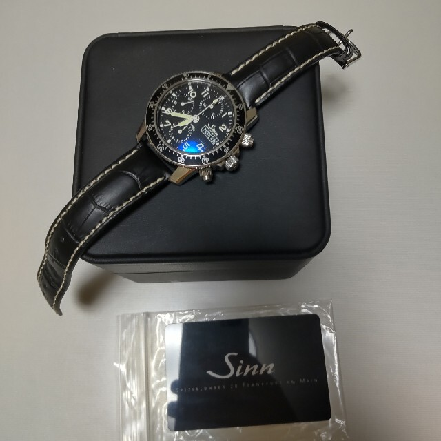 SINN(シン)のsinn 103.B.SA.AUTO 腕時計 自動巻 ミリタリー メンズの時計(腕時計(アナログ))の商品写真