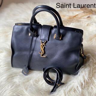Saint Laurent - サンローラン 良品 カバス ショルダー ブラック 黒 正規品 本物 ハンドバッグ
