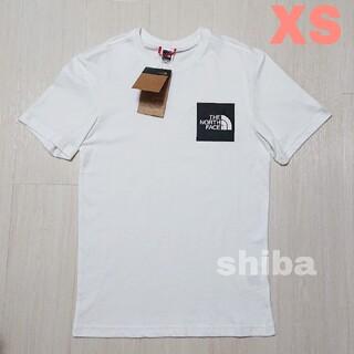 THE NORTH FACE - ノースフェイス tシャツ 半袖 ロゴボックス Fine t-shirt 海外XS