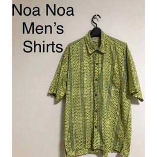noanoa ノアノア ハワイ⭐︎メンズ アロハシャツ Mサイズ
