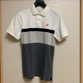 ナイキ(NIKE)の【人気】ナイキ ポロシャツ 風車ロゴ ボーダー メンズ Sサイズ 正規品 古着(ポロシャツ)