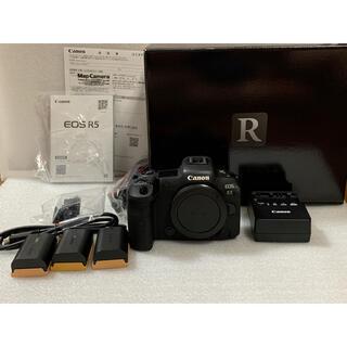 Canon - キヤノン EOS R5 予備電池付き 美品