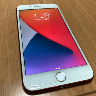 Apple - Apple iPhone7 plus 128GB レッド SIMフリー