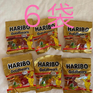 HARIBO★ハリボー★ 約10ぐらむ×6袋 301 円