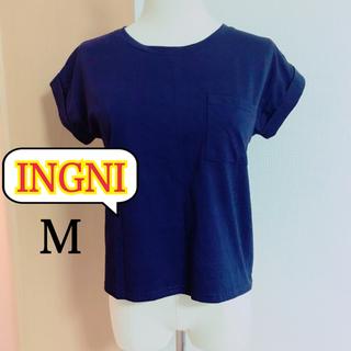 イング(INGNI)のINGNI  ショート丈  Tシャツ(M)(Tシャツ(半袖/袖なし))