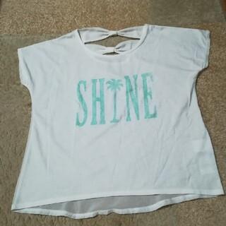 ディップドロップス(Dip Drops)のDip Drops 背中異素材使いTシャツ(Tシャツ(半袖/袖なし))