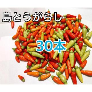 沖縄県産 島とうがらし30本(野菜)
