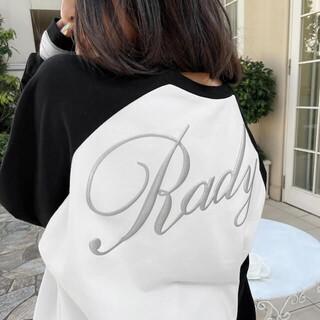Rady - Rady❤️バックロゴ❤️ロングTシャツ(白黒)✨✨✨✨✨✨✨✨✨✨✨✨✨✨✨✨