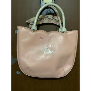Kitamura - キタムラ チューリップ型が可愛いミニトートバッグ