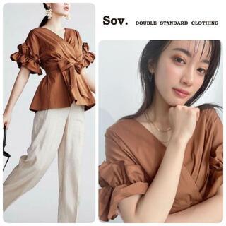 DOUBLE STANDARD CLOTHING - MAQUIA掲載★21SS完売★新品 ダブルスタンダードクロージング ブラウス