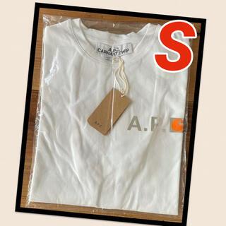 アーペーセー(A.P.C)の【新品】A.P.C. アーペーセー カーハート Tシャツ ホワイト Sサイズ(Tシャツ/カットソー(半袖/袖なし))