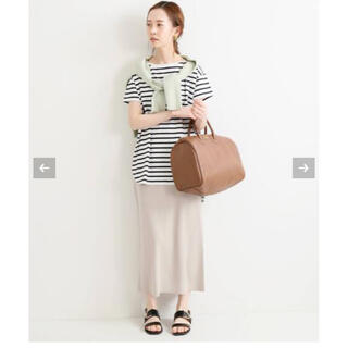 イエナ(IENA)の新品 IENA 3/60 cotton ニットスカート(ロングスカート)