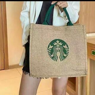 Starbucks Coffee - スターバックス スタバ  トートバッグ ジュート エコバッグ N1