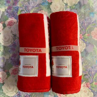 トヨタ(トヨタ)のトヨタ オリンピック タオル(タオル/バス用品)