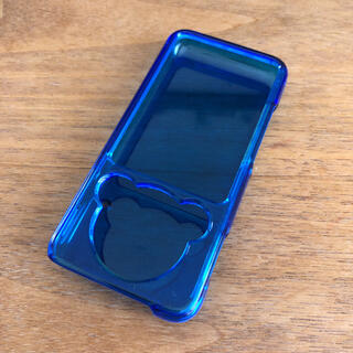 ウォークマン(WALKMAN)のSONY ウォークマン NW-S780、S10、E080シリーズ  カバー 青(ポータブルプレーヤー)