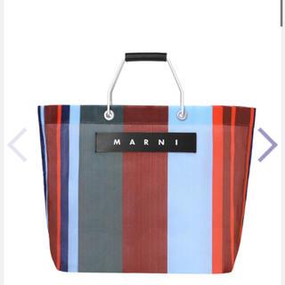 Marni - マルニ マルニフラワーカフェ ストライプバッグ トートバッグ バッグ 新品