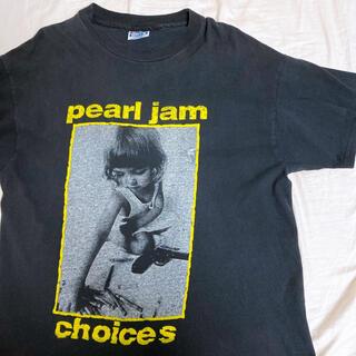 Hanes - 90's pearl jam Tシャツ